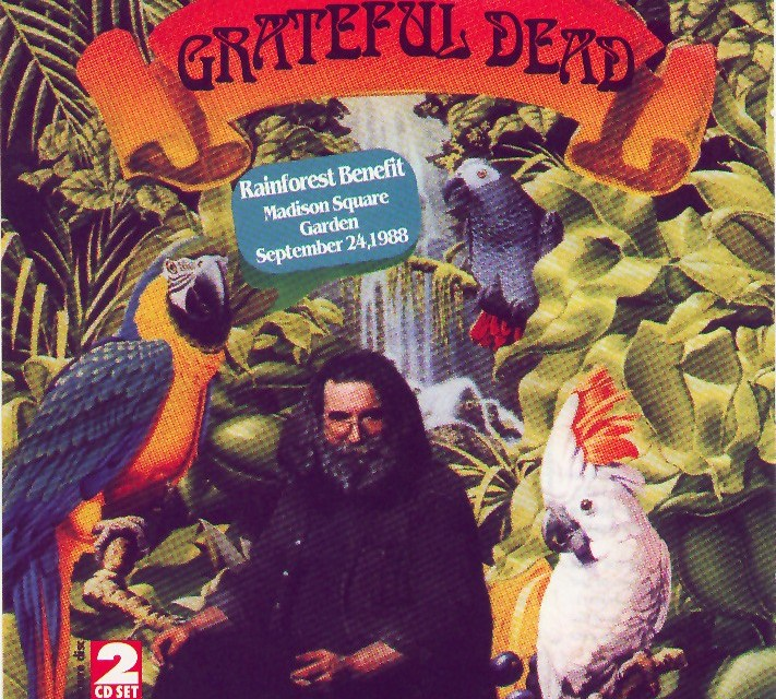 ON THIS DAY: Sept. 24 1988, Rain Forest Benefit ~ Grateful Dead w Suzanne Vega, Hall & Oates, m Madison Square Garden #tbt (AUDIO and VIDEO)