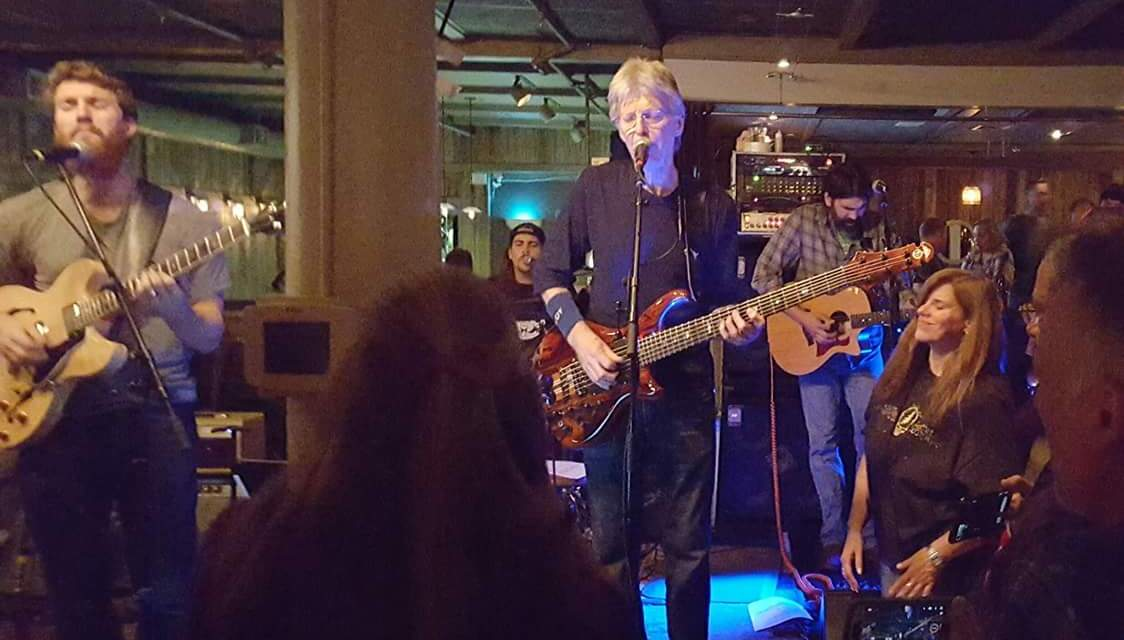 Phil Lesh is Looking Good! Sounds great, surprise appearance at TxR Bar Thursday Night