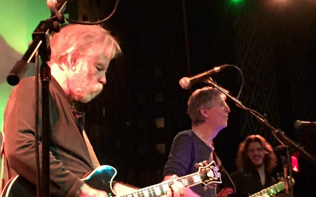 Phil Lesh and Bob Weir of the Grateful Dead sit in together with Midnight North in NYC – Setlist and Video