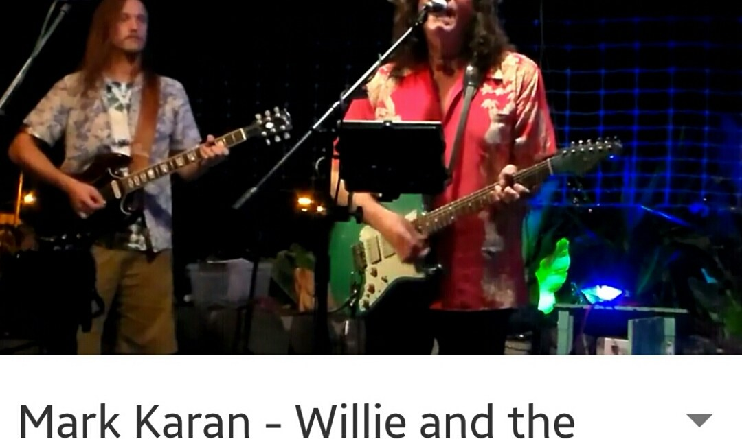 "VIDEO: Mark Karan in Hawaii ""Willie and the Hand Jive > Loose Lucy"""