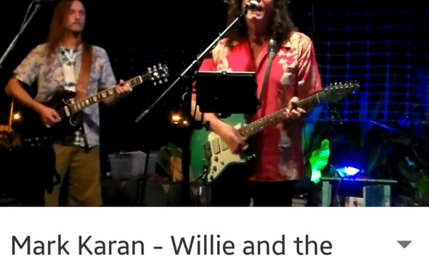 """VIDEO: Mark Karan in Hawaii """"Willie and the Hand Jive > Loose Lucy"""""""