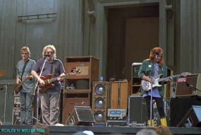 Jerry Garcia Band - Greek Berkeley 8.30.1987 by Caleb Miller (3)