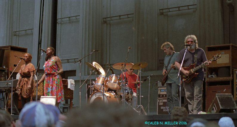 Jerry Garcia Band - Greek Berkeley 8.30.1987 by Caleb Miller (4)