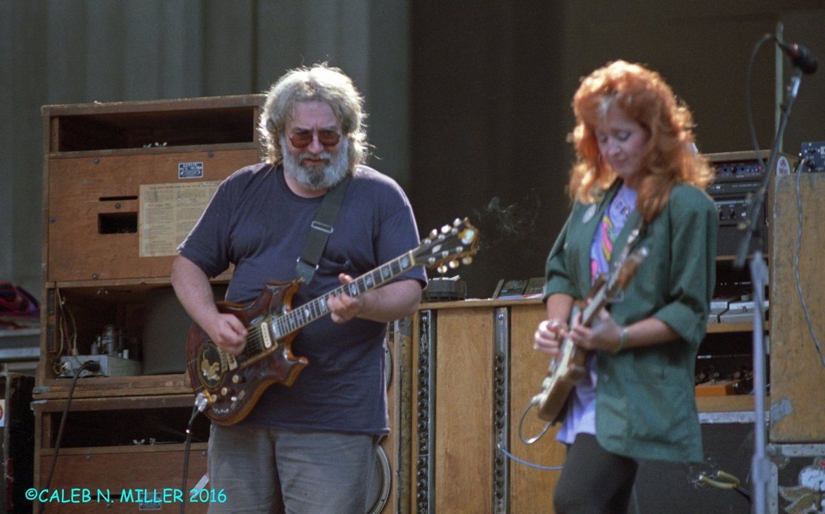 PHOTO GALLERY: Jerry Garcia Band with Bonnie Raitt, Berkeley Greek 8.30.1987