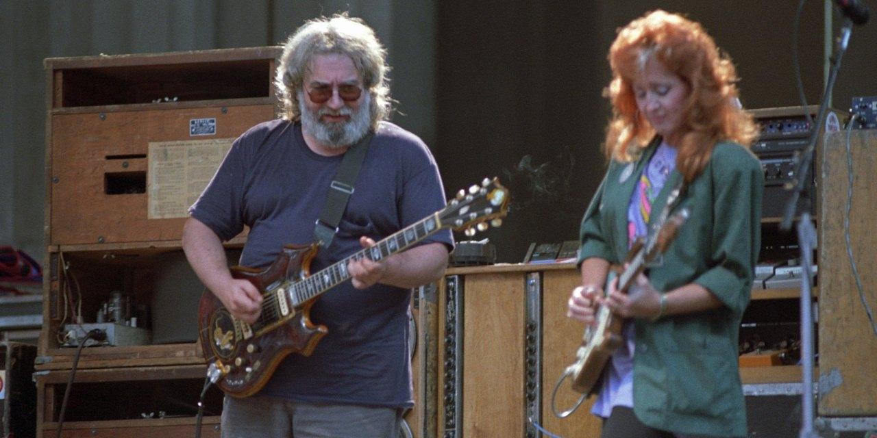 PHOTO GALLERY: Jerry Garcia Band with Bonnie Raitt, Berkeley Greek 8.30.1987