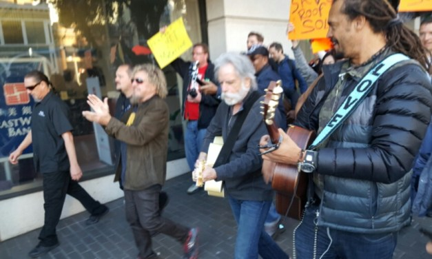 VIDEO & SETLIST: Bob Weir, Michael Franti, Sammy Hagar, #RockTheSun, San Francisco, California, Sunday January 24, 2016