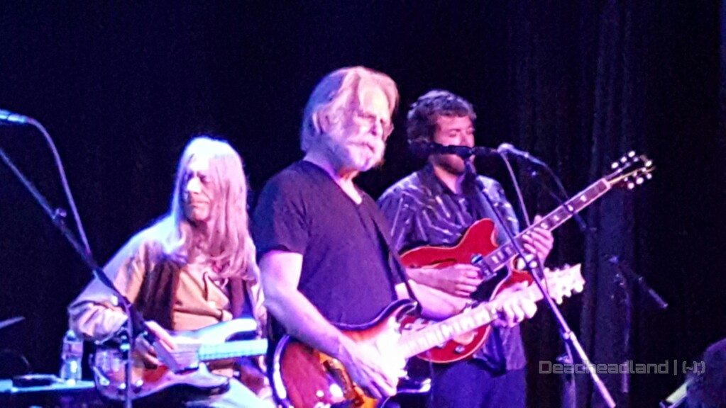 "VIDEO: Stu Allen & Mars Hotel w Bob Weir ""Bird Song > New Speedway Boogie"""
