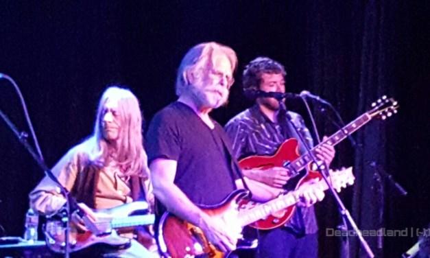 "VIDEO: Stu Allen & Mars Hotel w Bob Weir ""Bird Song > New Speedway Boogie"""