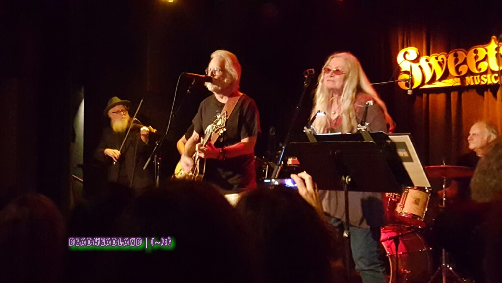 SETLIST Heart of Gold Band Reunion Concert w Bob Weir,  Mon. Aug. 1, 2016, Sweetwater Music Hall Mill Valley, CA