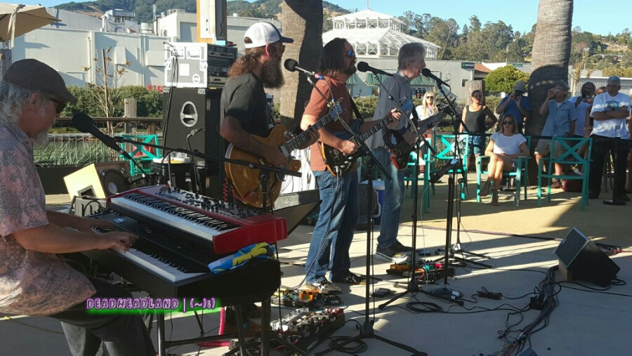 SETLIST:FREE CONCERT!Phil Lesh and Friendswith Mookie Siegel, Ross MF James, and Stu AllenThe Back YardTerrapin CrossroadsSan Rafael, CATuesday, August 2, 2016