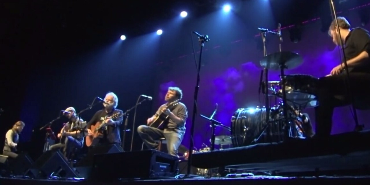 Weir Everywhere Dept: Joe Russo's Almost Dead, Fox Oakland Acoustic Set,  with Bob Weir of the Grateful Dead, November 12th 2016 (full video)
