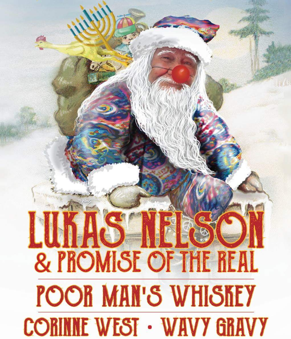 Lukas Nelson and the Promise of the Real, Poor Man's Whiskey, Corrine West, Wavy Gravy~ SEVA FOUNDATION 2016 HOLIDAY SHOW IN BERKELEY!