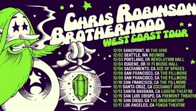Chris Robinson Brotherhood: West Coast Tour 2016
