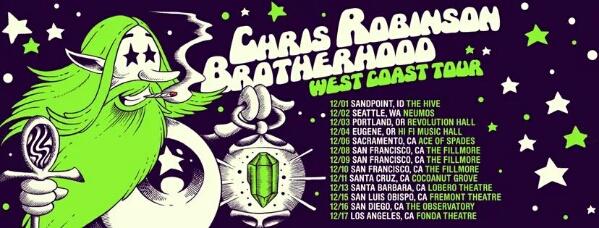 Chris Robinson Brotherhood: West Coast Tour 2016