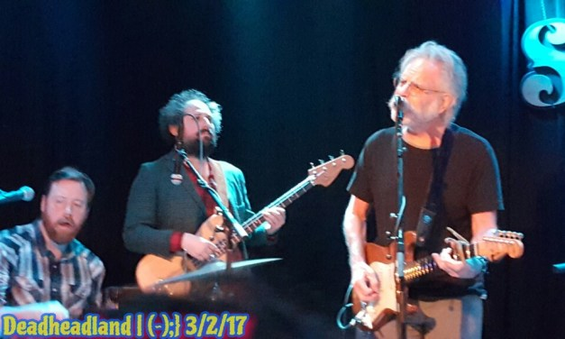 """VIDEO """"Stella Blue"""" Bob Weir, Joe Russo, Josh Kaufman, Kevin Morby, Sam Cohen, Eric D. Johnson, Sweetwater Music Hall Mill Valley CA March 2nd 2017"""