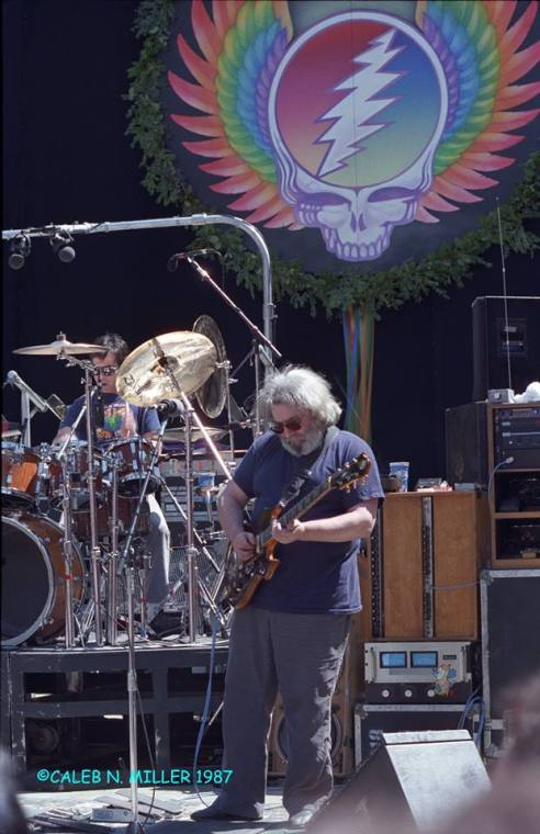 Grateful Dead - Frost - May 2nd 1987 ©Caleb Miller (1)