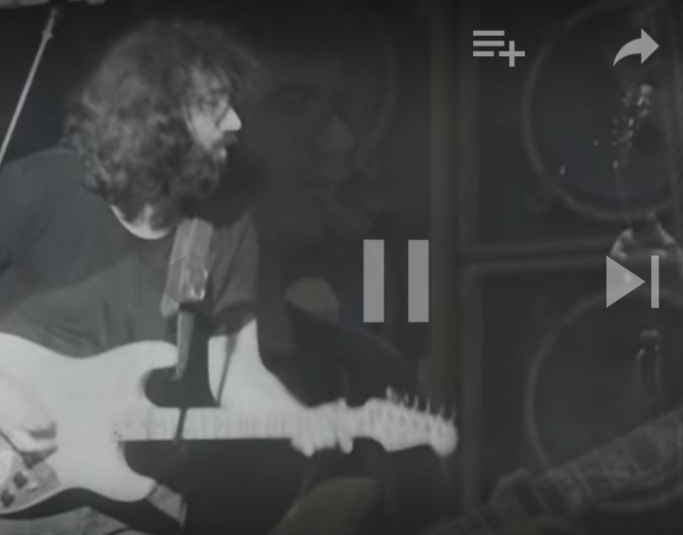 Jerry Garcia – Run For The Roses 6-27-82 (photo montage)