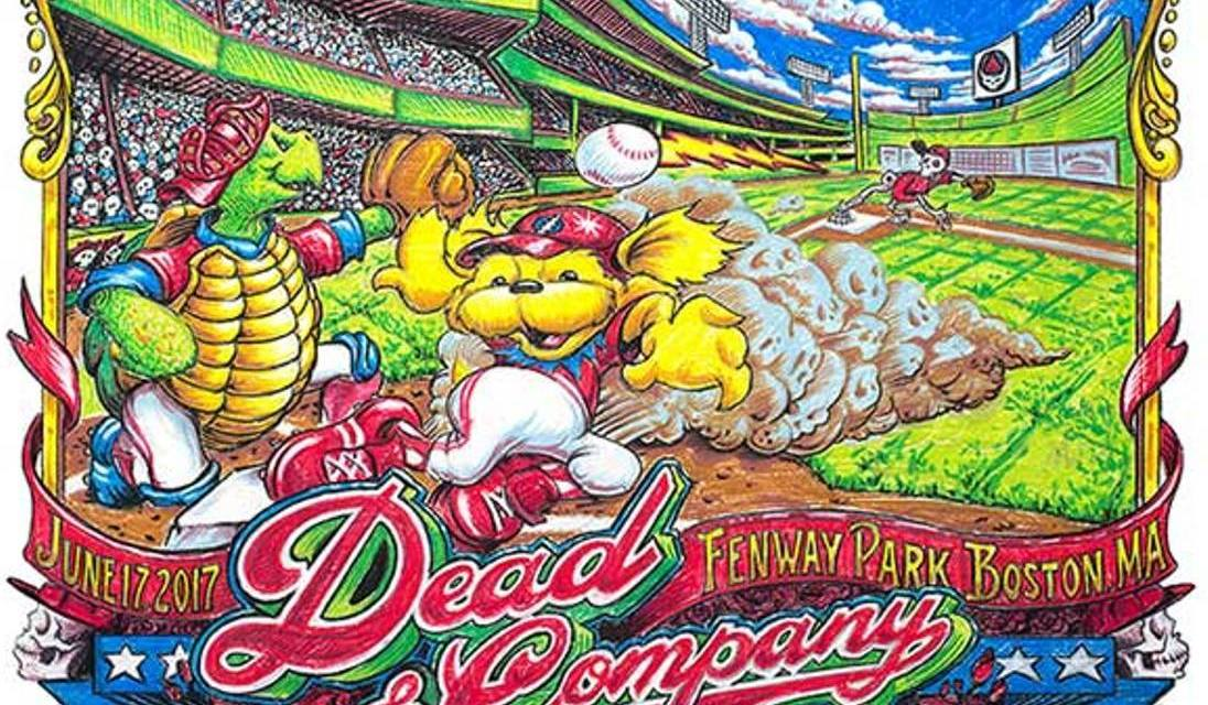 Dead and Company STREAM Live from Fenway Park 6/17/17 Set I 1st song, coming up…