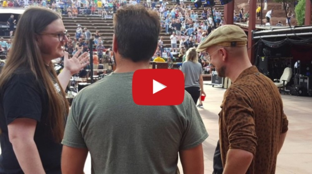 Watch: The Adventures of Tiger at Jerry Garcia's 75th Birthday Concert at Red Rocks