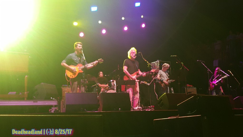 SETLIST: Friday, August 25, 2017 Phil Lesh & the Terrapin Family Band Lockn' Festival from Arrington, VA