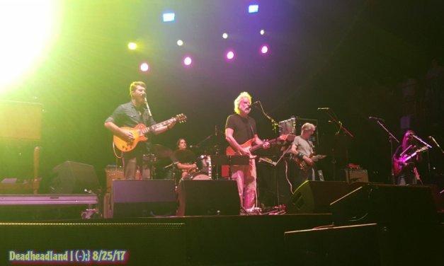 SETLIST: Friday, August 25, 2017 Phil Lesh & the Terrapin Family Band Lockn' Festival from Arrington, VA