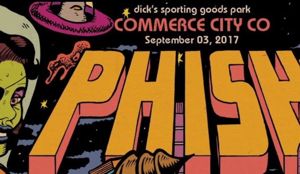 Watch PHISH  °º·∙<·)))))<  | Streaming live from Dick's Sporting Goods Park 9/3/17 | FREE webcast tonight!