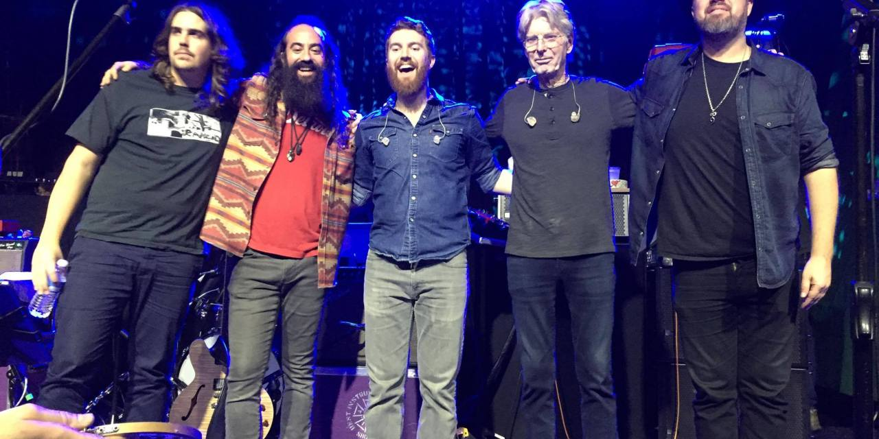 Phil Lesh & The Terrapin Family Band setlist, Saturday November 18, 2017  Exit/In Nashville Tennessee