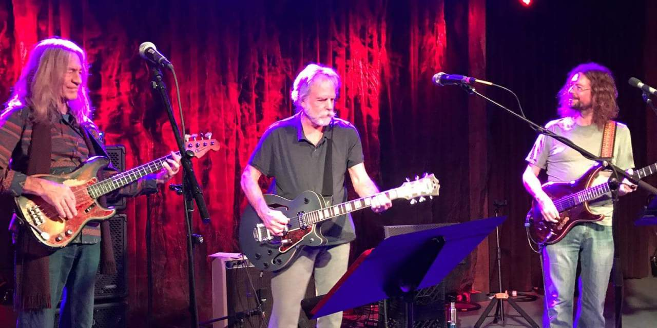 WEIR EVERYWHERE DEPT: Bob Weir surprise sit in w John Kadlecik Band at Terrapin Crossroads, Wed December 13 2017, Setlist and Video