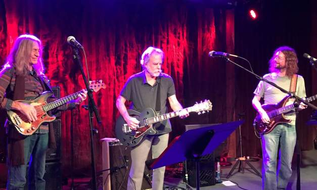 WEIR EVERYWHERE DEPT: Bob Weir surprise sit in w John Kadlecik Band at Terrapin Crossroads, Wed December 13 2017, Setlist and Video