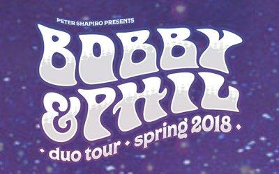 Tour Announced: BOB WEIR & PHIL LESH Duo Tour 2018