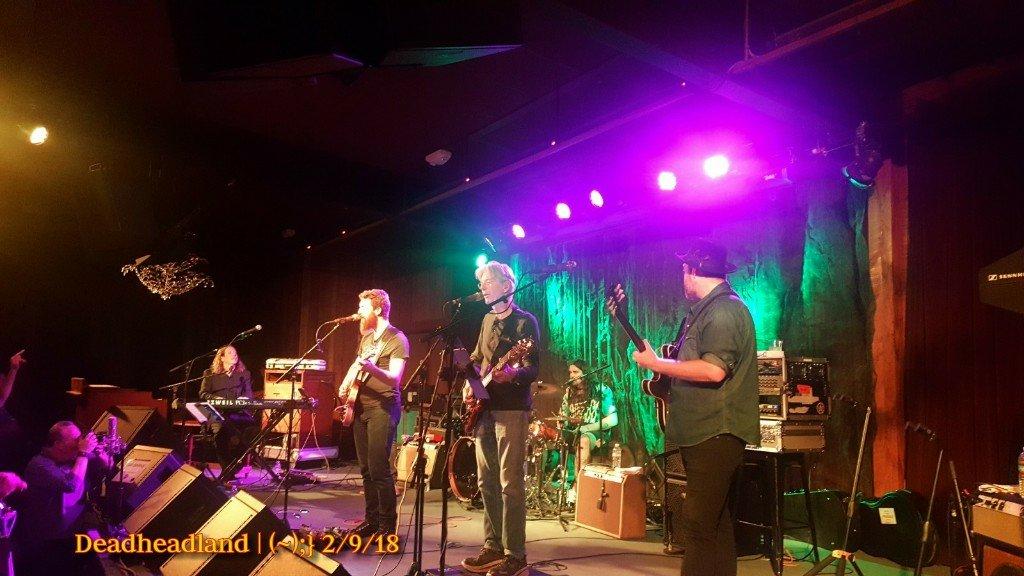 Setlist and Full Video: Dedicated to John Perry Barlow | Phil Lesh and the Terrapin Family Band wsg Eric Krasno | Thursday February 8, 2018 | Terrapin Crossroads, San Rafael CA