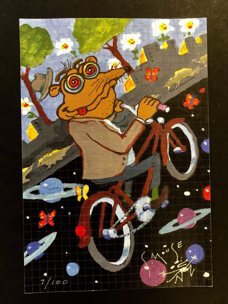 """Bicycle Day Drop 