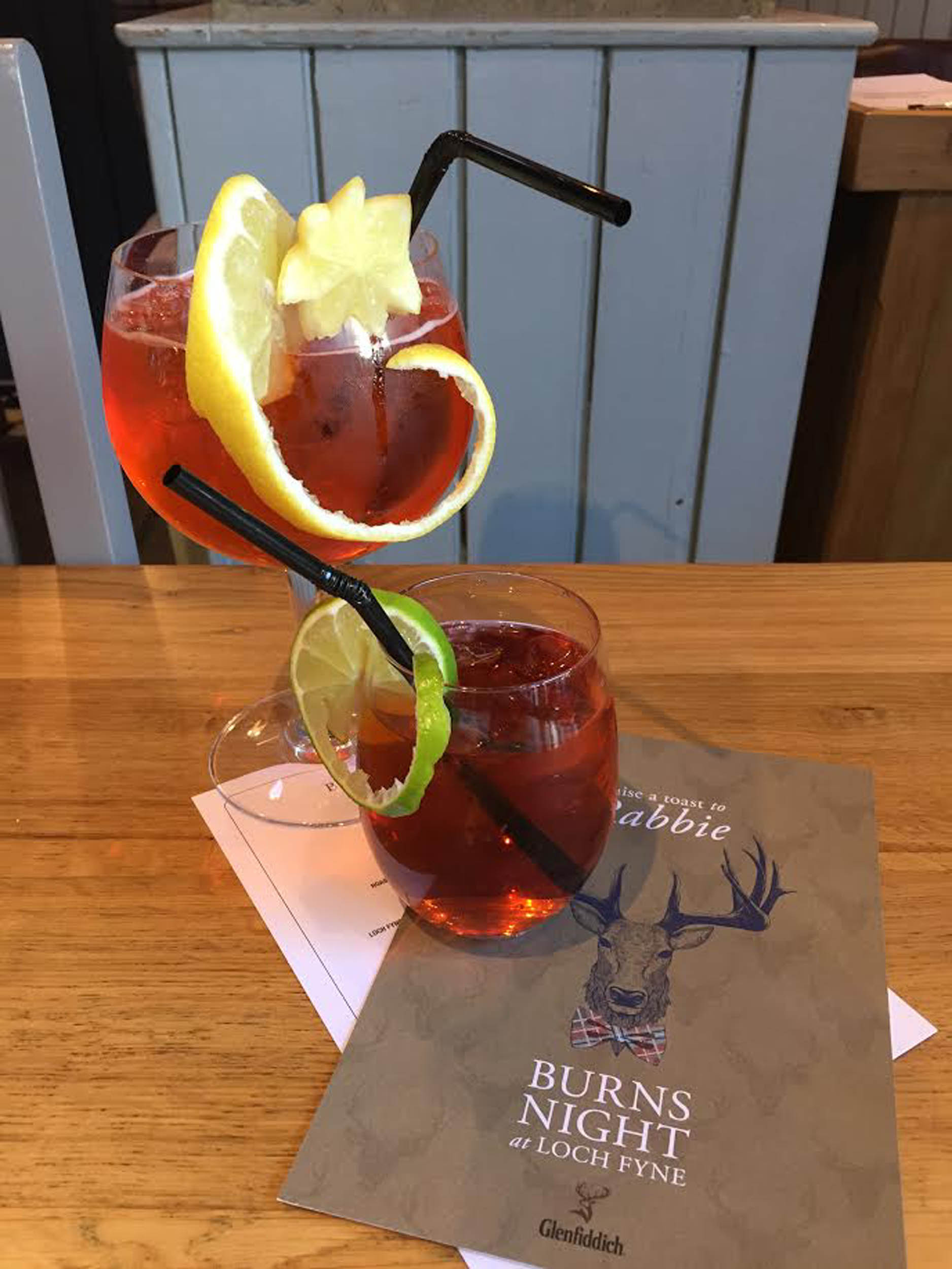 Scots eaterie offers English diners Irn-Bru and prosecco cocktail for Burns Night