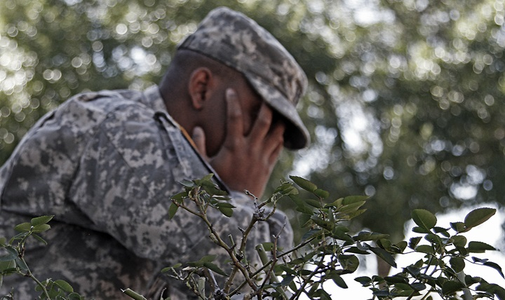 soldiers committing to psychiatric treatment