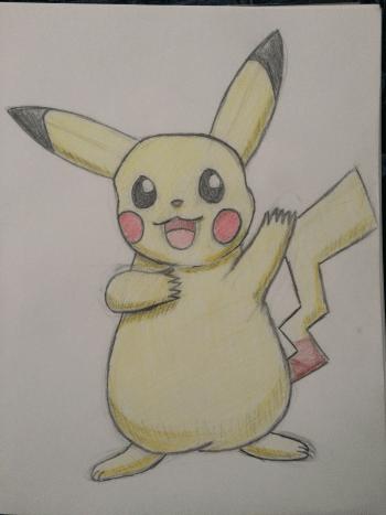 Art Pikachu