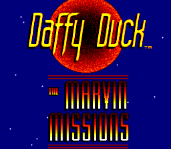 Daffy Duck Marvin Missions SNES - 01