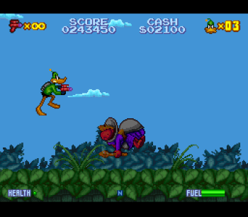 Daffy Duck Marvin Missions SNES - 26