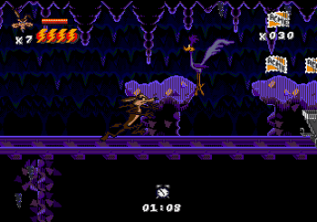 Desert Demolition Starring Road Runner and Wile E Coyote (Genesis) - 14