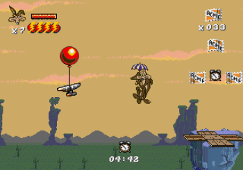 Desert Demolition Starring Road Runner and Wile E Coyote (Genesis) - 17