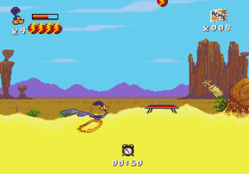 Desert Demolition Starring Road Runner and Wile E Coyote (Genesis) - 24