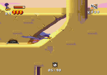 Desert Demolition Starring Road Runner and Wile E Coyote (Genesis) - 26
