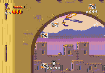 Desert Demolition Starring Road Runner and Wile E Coyote (Genesis) - 27
