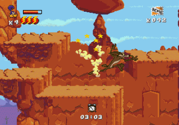 Desert Demolition Starring Road Runner and Wile E Coyote (Genesis) - 29