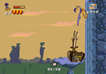 Desert Demolition Starring Road Runner and Wile E Coyote (Genesis) - 33