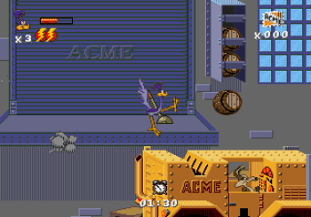 Desert Demolition Starring Road Runner and Wile E Coyote (Genesis) - 35