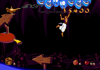 Disney's Aladdin Genesis - 44