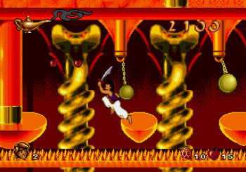 Disney's Aladdin Genesis - 58