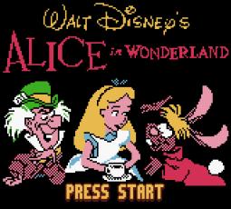 Disney's Alice in Wonderland GBC - 01