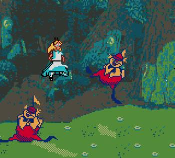 Disney's Alice in Wonderland GBC - 33