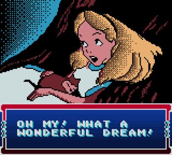 Disney's Alice in Wonderland GBC - 52